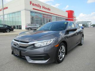 Used 2018 Honda Civic LX, REVERSE CAM, HEATED SEATS for sale in Brampton, ON