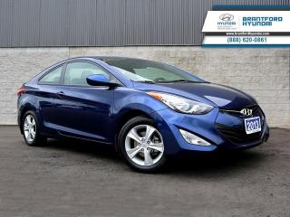 Used 2013 Hyundai Elantra Coupe - $87 B/W for sale in Brantford, ON