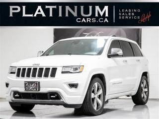 Used 2015 Jeep Grand Cherokee Overland 4WD, DIESEL, NAVI, PANO, CAM, Heat Seats for sale in Toronto, ON