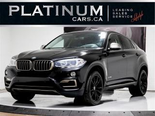 Used 2015 BMW X6 50i V8 445 HP, NAVI, Heads UP, 360 CAM, Carbon for sale in Toronto, ON