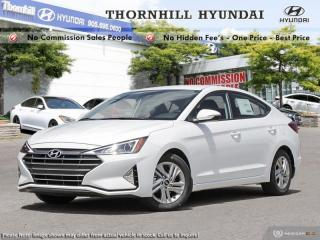 Used 2020 Hyundai Elantra Preferred  - Sweet Style for sale in Thornhill, ON