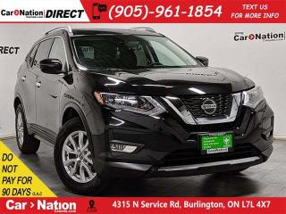 Used 2019 Nissan Rogue SV| AWD| PANO ROOF| BACK UP CAMERA| for sale in Burlington, ON