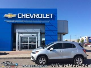 Used 2018 Chevrolet Trax LS  - Bluetooth - $152 B/W for sale in Bolton, ON