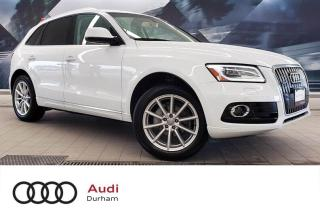 Used 2017 Audi Q5 2.0T Technik + Blind Spot | B & O | Rear Cam for sale in Whitby, ON