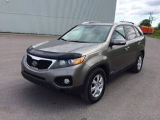 Used 2012 Kia Sorento Traction intégrale 4 portes V6, boîte au for sale in Quebec, QC