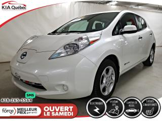Used 2015 Nissan Leaf SV* 100% ELECTRIQUE* GPS* CAMERA* for sale in Québec, QC