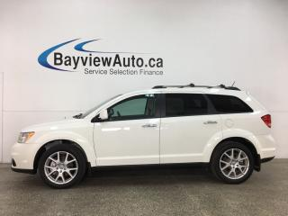 Used 2017 Dodge Journey GT - AWD! 7 PASS! DVD! NAV! SUNROOF! HTD LTHR! + MORE! for sale in Belleville, ON