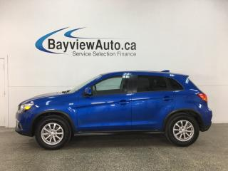 Used 2018 Mitsubishi RVR ES - HEATED SEATS! REVERSE CAM! BLUETOOTH! ALLOYS! for sale in Belleville, ON