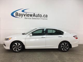 Used 2017 Honda Accord EX-L - AUTO! HTD LEATHER! SUNROOF! ADAPTIVE CRUISE! + MORE! for sale in Belleville, ON