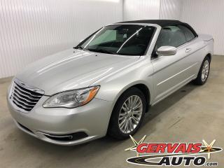 Used 2012 Chrysler 200 Touring V6 Convertible MAGS Sièges chauffants for sale in Trois-Rivières, QC