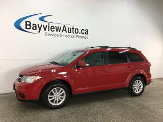 Used 2013 Dodge Journey SXT/Crew - PUSH START! DUAL A/C! FULL PWR GROUP! ALLOYS! for sale in Belleville, ON