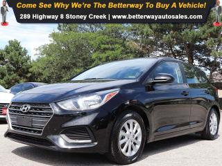 Used 2019 Hyundai Accent Preferred| Backup Cam| Heat Seat| Gas Saver! for sale in Stoney Creek, ON