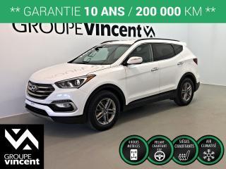 Used 2017 Hyundai Santa Fe SPORT PREMIUM AWD ** GARANTIE 10 ANS ** Parfait pour la famille et les loisirs! for sale in Shawinigan, QC