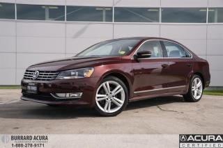 Used 2013 Volkswagen Passat Highline 2.0 TDI 6sp DSG at w/ Tip Navigation for sale in Vancouver, BC