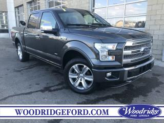 Used 2015 Ford F-150 Platinum ***PRICE REDUCED*** NO ACCIDENTS, 3.5L V6, ADPT. CRUISE, ACTIVE PARK ASSIST, TECH PKG. for sale in Calgary, AB