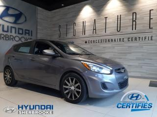 Used 2015 Hyundai Accent GL+A/C+BANCS CHAUFF+BLUETOOTH+CRUISE for sale in Sherbrooke, QC