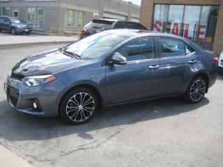 Used 2015 Toyota Corolla LEATHER/NAVIGATION/SUNROOF/R.CAMERA/P.SEAT for sale in North York, ON