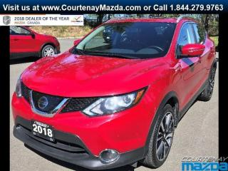 Used 2018 Nissan Qashqai SL AWD CVT for sale in Courtenay, BC