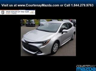 Used 2019 Toyota Corolla Hatchback CVT for sale in Courtenay, BC