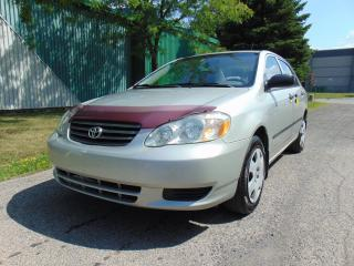 Used 2003 Toyota Corolla 4DR SDN CE AUTO for sale in St-Eustache, QC