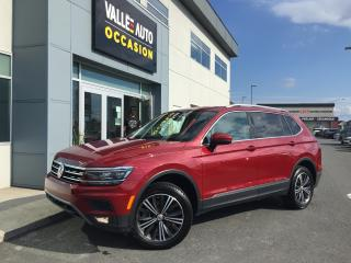 Used 2018 Volkswagen Tiguan 2018 Volkswagen Tiguan - Highline 4MOTION for sale in St-Georges, QC