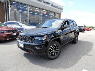 Used 2017 Jeep Grand Cherokee Trailhawk NAVI/LEATHER/DUAL-PANE SUNROOF for sale in Concord, ON