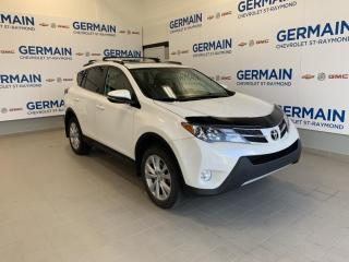 Used 2015 Toyota RAV4 LIMITED-AWD- CUIR- TOIT OUVRANT- DEM. À DISTANCE for sale in St-Raymond, QC