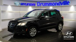 Used 2011 Volkswagen Tiguan 4MOTION + HIGHLINE + TOIT + CUIR + WOW ! for sale in Drummondville, QC