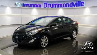 Used 2012 Hyundai Elantra LIMITED + NAVI + TOIT + MAGS + SMART KEY for sale in Drummondville, QC