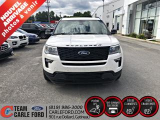 Used 2018 Ford Explorer Ford Explorer Sport 2018, AWD, FULL ÉQUI for sale in Gatineau, QC