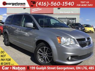 Used 2016 Dodge Grand Caravan SE/SXT | LEATHER | REAR AC | FULL STO'N'GO | FOGS for sale in Georgetown, ON