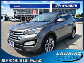 Used 2014 Hyundai Santa Fe Sport 2.0T AWD Limited - Low kms! for sale in Port Hope, ON