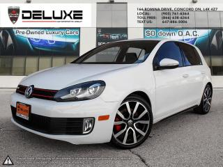 Used 2013 Volkswagen Golf GTI 5 portes VOLKSWAGEN GOLF GTI-2.0L 6 SPD DOHC FSI 16-valve turbocharged $0 DOWN OAC for sale in Concord, ON