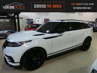 Used 2019 Land Rover RANGE ROVER VELAR P340 SE R-Dynamic P340| R-DYNAMIC| PANO RF| NAVI| MERIDIAN SOUND for sale in Vaughan, ON