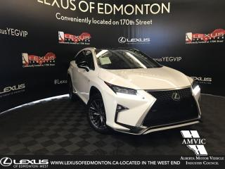Used 2017 Lexus RX 350 F Sport Series 3 for sale in Edmonton, AB