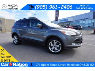 Used 2013 Ford Escape SEL | NAV | LEATHER | XM RADIO | HEATED SEATS for sale in Hamilton, ON