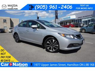 Used 2015 Honda Civic EX | REAR CAM | SUNROOF | BLINDSPOT ASSIST for sale in Hamilton, ON