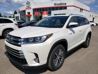New 2019 Toyota Highlander Hybrid HYBRID XLE for sale in Etobicoke, ON