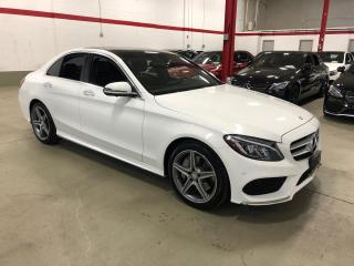 Used 2016 Mercedes-Benz C-Class C300 4MATIC PREMIUM PLUS SPORT ACTIVE LED 360 CAMERA for sale in Vaughan, ON