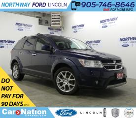 Used 2017 Dodge Journey GT | AWD | HTD LEATHER | 3 ROW | PUSH START | for sale in Brantford, ON