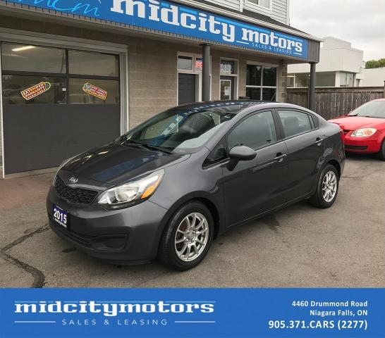 2015 Kia Rio LX+/Heated Seats/Bluetooth/Alloy Wheels