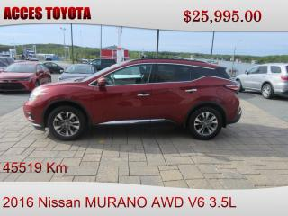 Used 2016 Nissan Murano TRES PROPRE for sale in Rouyn-Noranda, QC