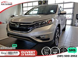 Used 2016 Honda CR-V *TOURING*AWD*CUIR*GPS*TOIT*AIR*CRUISE* for sale in Québec, QC