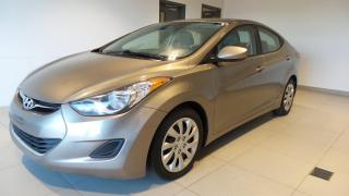 Used 2013 Hyundai Elantra Berline manuelle GL for sale in St-Raymond, QC