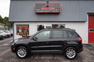 Used 2014 Volkswagen Tiguan COMFORTLINE 4MOTION TSI CUIR TOIT PANO 122 689 KM for sale in Lévis, QC