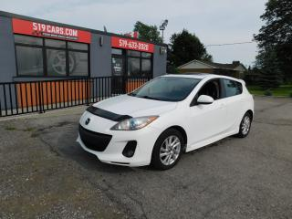 Used 2013 Mazda MAZDA3 |GS|SUNROOF|BLUETOOTH W/ AUDIO STREAMING for sale in St. Thomas, ON