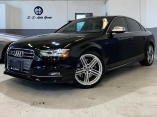 Used 2013 Audi S4 PREMIUM PLUS|SUNROOF|BROWN INTERIOR|DRIVE SELECT for sale in Oakville, ON