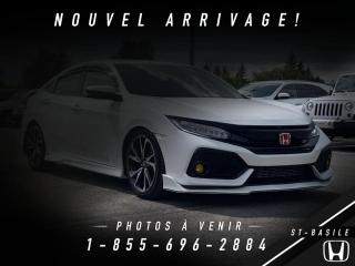 Used 2018 Honda Civic Si manuelle for sale in St-Basile-le-Grand, QC