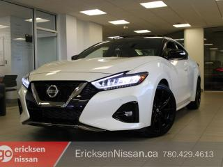 New 2019 Nissan Maxima SR Heated & Cooling Seats | Paddle Shifters | Rear Spoiler for sale in Edmonton, AB