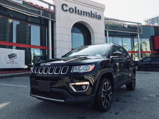 Used 2018 Jeep Compass Limited Nav Sunroof Leather No Accident 4X4 for sale in Richmond, BC